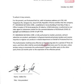Photos Proteomtech_Letter of Authorization proteometech_letter_of_authorization
